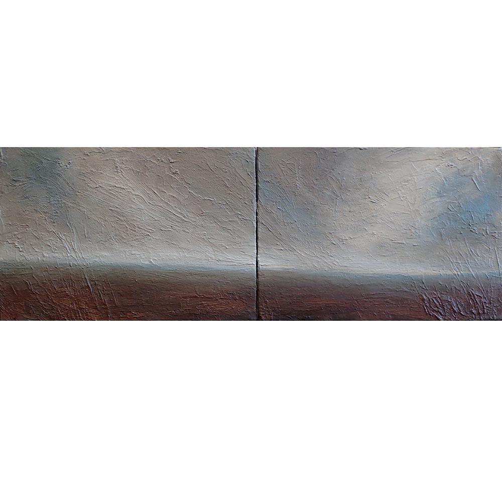 Horizon-line-diptych